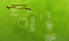 Copy of Organic Living