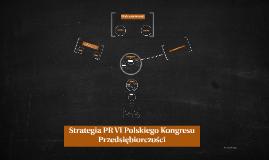 Strategia PR VI Polskiego Kongresu Przedsiębiorczości