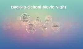 Back-to-School Movie Night