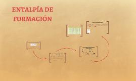 ENTALPÍA DE FORMACIÓN