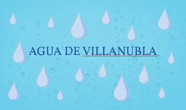 AGUA DE VILLANUBLA