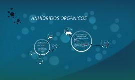 ANHÍDRIDOS ORGÁNICOS