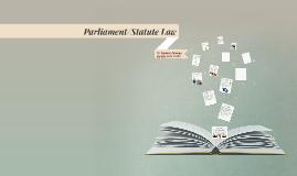 Parliament/Statute Law