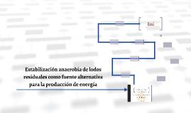 Estabilización anaerobia de lodos residuales como fuente alt