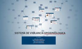 SISTEMA DE VIGILANCIA EPIDEMIOLOGICA