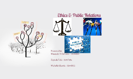 Ethics & Public Relations
