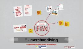 E - merchandising