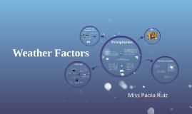 12 Weather Factors