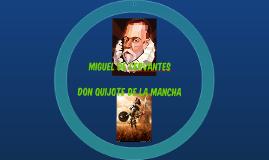 Miguel de Cervantes,