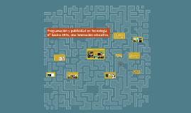 Programación y publicidad en Tecnología, una innovación educ