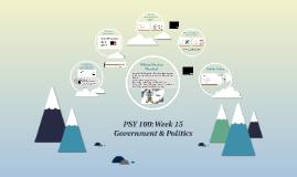PSY 100: Week 15