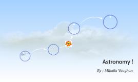 Astronomy !