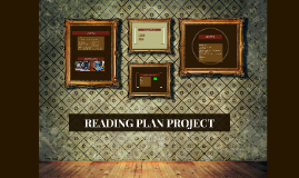 Copy of READING PLAN: PROJECT