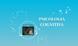ESCUELA PSICOLOGÍA COGNITIVA