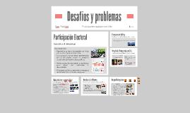 Desafíos y problemas