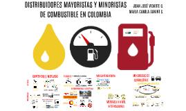 DISTRIBUIDORAS MAYORISTAS Y MINORISTAS DE COMBUSTIBLE