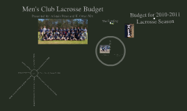Budget for Lax
