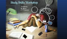 Summer Scholars Study Skills Presentation