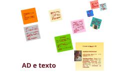 Análise de Discurso e Texto