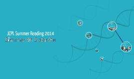 JCPL Summer Reading 2014
