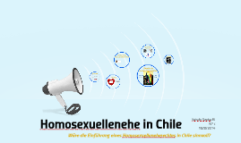 Homosexuellenehe in Chile