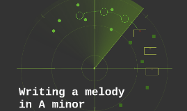 Melody in A minor