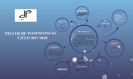 Copy of TALLER DE MATEMATICAS