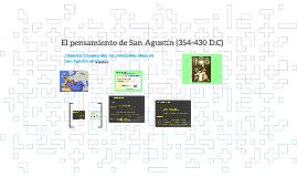 El pensamiento de San Agustín