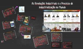 Copy of As Revoluções Industriais e o Processo de industrialização n