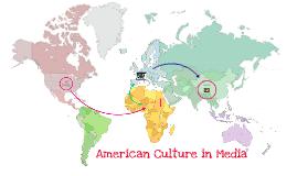 American Culture in Media