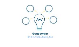 Gunpowder Project