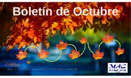 Boletín de Octubre