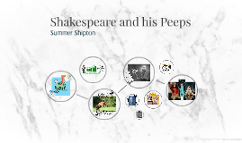 Shakespeare and his Peeps