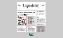 Malaysian Economy - Global Financial Crisis
