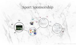 Sport Sponsorship and Behaviour