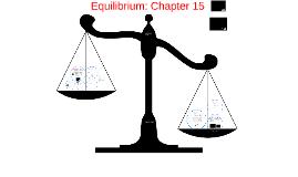 Equilibrium: Chapter 15