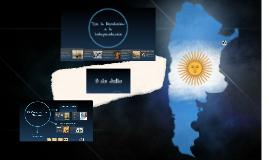 Telón Día de la Independencia de Argentina
