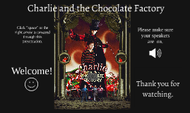 Charlie and the Chocolate Factory Analysis