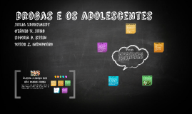 drogas e os adolescentes