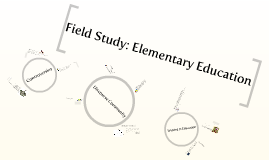 Copy of Field Study: Elementary Education