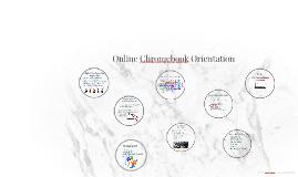 Online Chromebook Orientation