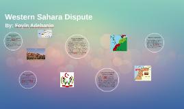 Western Sahara Dispute