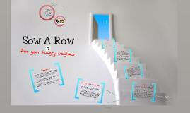 Sow A Row
