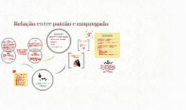 Copy of Relação ética entre patrão e empregado