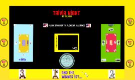 Trivia Night 1/2/18