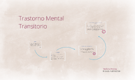 Trastorno Mental Transitorio
