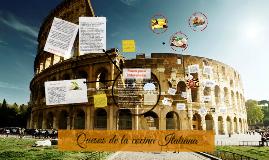 Quesos de la cocina Italiana