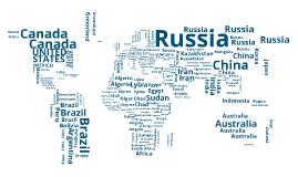 Copy of typographic world map