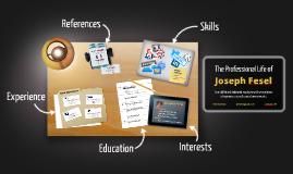 Desktop Prezumé by Joe Fesel