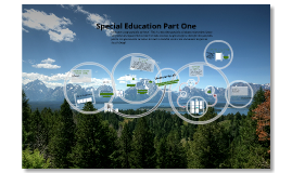 Special Education Part One